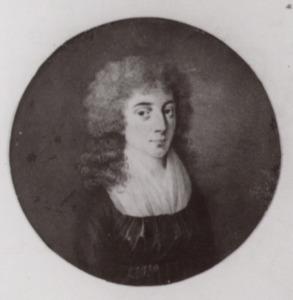 Portret van waarschijnlijk Maria Johanna Obreen