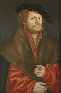 Portret van Moritz Buchner