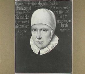 Portret van Eva Vliegen (1575-1626)
