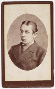 Portret van Willem Karel Johan van Oldenbarneveld genaamd Witte Tullingh (1857-1879)