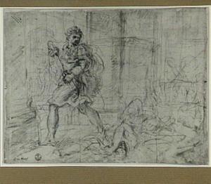 Moordtafereel (onderwerp uit de klassieke geschiedenis?)