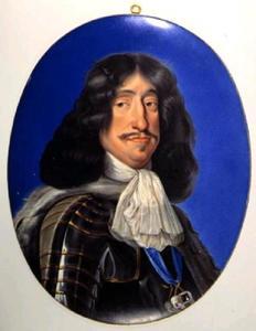 Portret van koning Frederik III (1609-1670) van Denemarken