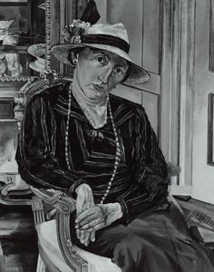 Portret van van Woerden