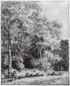 Rondeel in het Bergense Bos