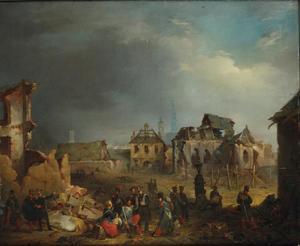 Na het bombardement van Antwerpen in 1830