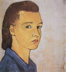 Portret van Charlotte Salomon (1917-1943)