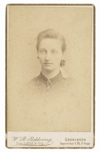 Portret van Anna Maria Catharina Hermanna van Hall (1867-1924)