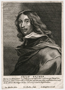 Portret van Jacob Adriaensz. Backer (1608-1651)