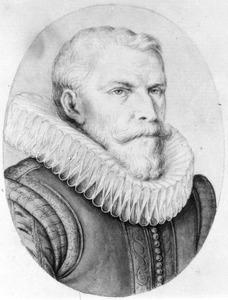 Portret van Laurens Spiegel (1575-1623)