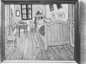 Van Gogh's slaapkamer in Arles