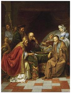 Zacharias maakt de naam van Johannes bekend (Lucas 1:57-64)