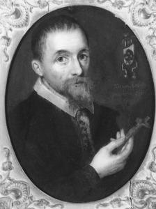 Portret van Nicolaas Nomius (1581-1626)