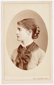 Portret van Mathilde Pacher von Heinburg