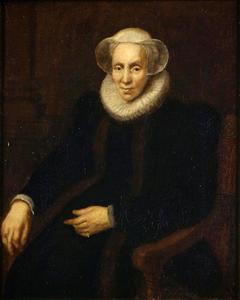 Portret van Maria van Utrecht (?-1629)
