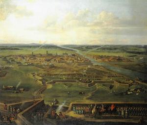 Het beleg van Stettin door Friedrich Wilhelm keurvorst van Brandenburg in 1677