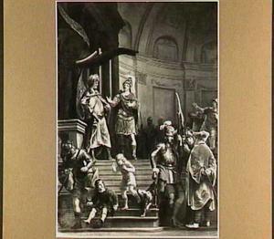 De onverschrokkenheid van Fabritius in Pyrrus' legerkamp