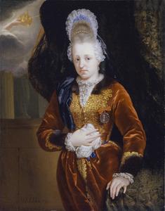 Portret van Marie Anne van de Palts (1669-1740)
