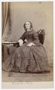 Portret van Sophia Alida Truter (1823-1891)