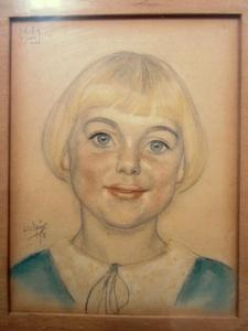 Portret van Meta Meijer (1924-2004)