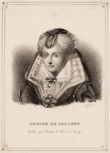 Portret van Louise de Coligny (1555-1620)