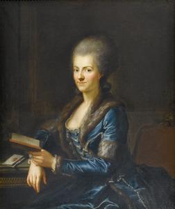 Portret van Elisabeth Sulzer uit Winterthur