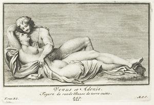 Venus en Adonis (pl. XLI)