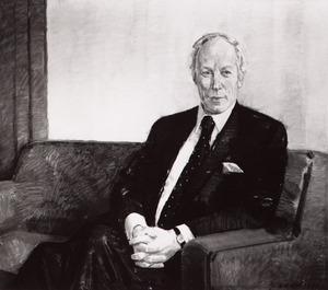 Portret van H.F. van den Hoven
