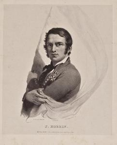 Portret van de matroos Jacob Hobein (1810-1888)