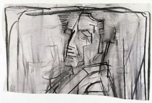 Zelfportret (verso)