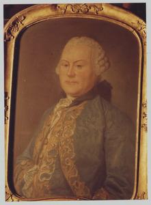 Portret van Johannes Philippus de Pelichy (1716-1792)