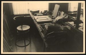 Atelier Lodewijk Schelfhout (Keizersgracht 482) na zijn overlijden, 1943