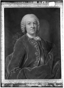 Portret van een man, waarschijnlijk Diederik van Leyden (1695-1764)