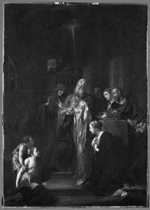 De zingende Simeon in de Tempel