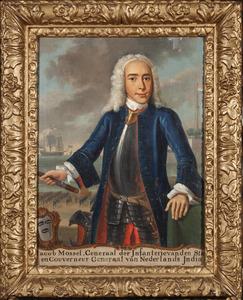 Portret van Jacob Mossel (1704-1761)