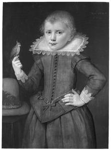 Portret van 9-jarig jongetje, waarschijnlijk een broertje van Emerantia van de Voorde