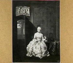 Portret van Joanna Francisca de Roy (1731-1816)