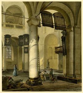 Mariakerk in Utrecht, het middenschip en de noordelijke koornis