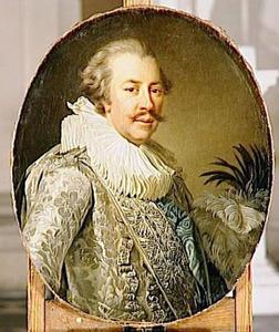 Portret van Louis-Hercule-Timoleon de Cosse, duc de Brissac (1734-1792)