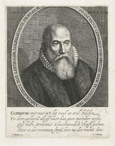 Portret van Franciscus Gomarus (1563-1641)