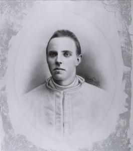 Portret van Louis Bernard Adriaan Marie de van der Schueren (1870-1900)