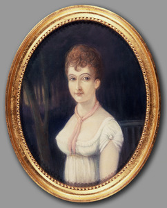 Portret van Eldina Alegonda Asselina Geertsema (1793-1837)