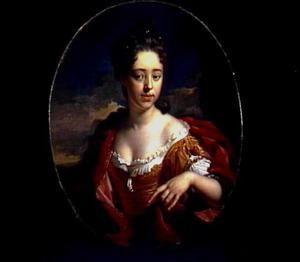 Portret van Maria van der Werff