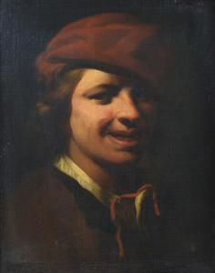 Jongeman met een rode baret
