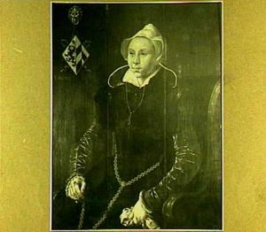 Portret van een vrouw uit het geslacht Kerckerinck