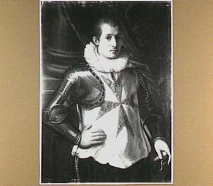 Portret van een ridder van de Orde van Santo Stefano
