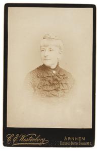 Portret van Jacqueline Caroline Johanna Godin de Pesters (1838-1905)