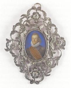 Portret van Ernst Casimir van Nassau-Dietz (1573-1632)