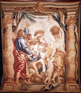 De Israëlieten verzamelen het manna (Exodus 16:17)