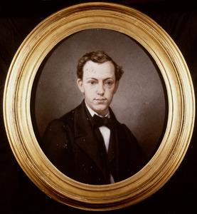Portret van Abraham Johan van der Hoop (1840-1867)