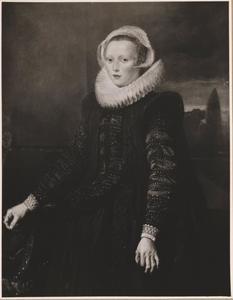 Portrait van een onbekende vrouw